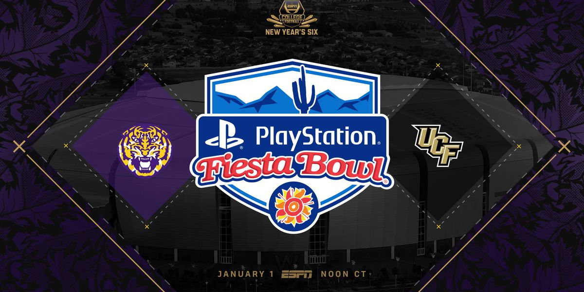 LSU to play undefeated UCF in New Year's Day Fiesta Bowl