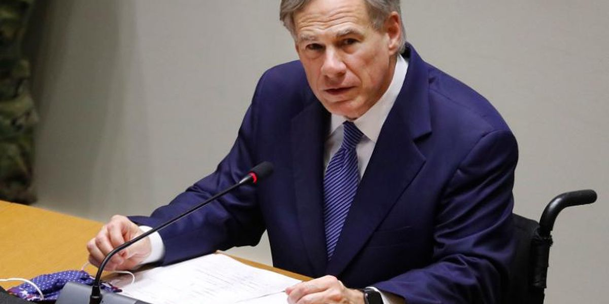 Gov. Abbott set to give update on Texas' response to COVID-19 pandemic