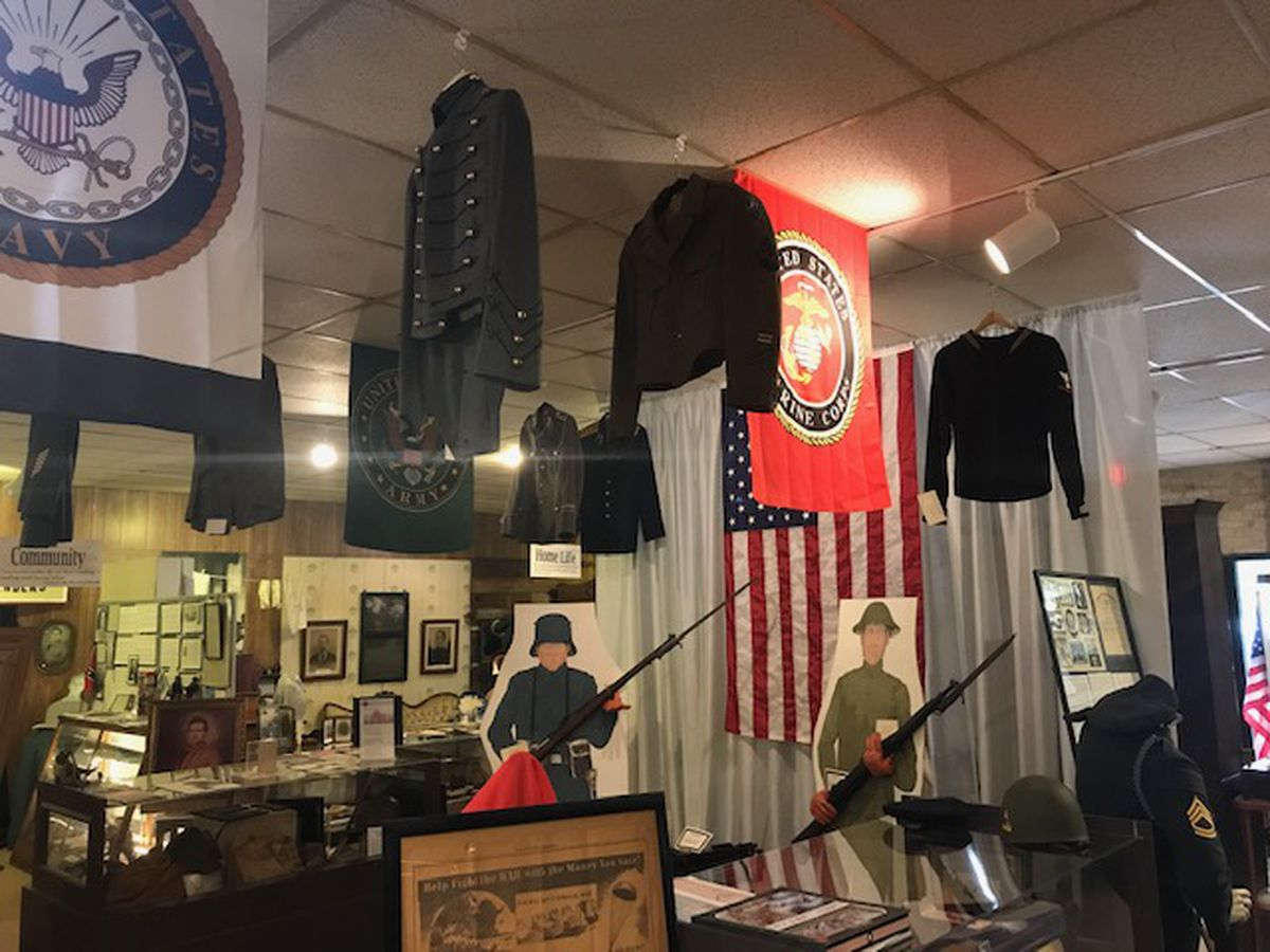 Cherokee County museum works to expand military Hall of Honor with display of dog tags