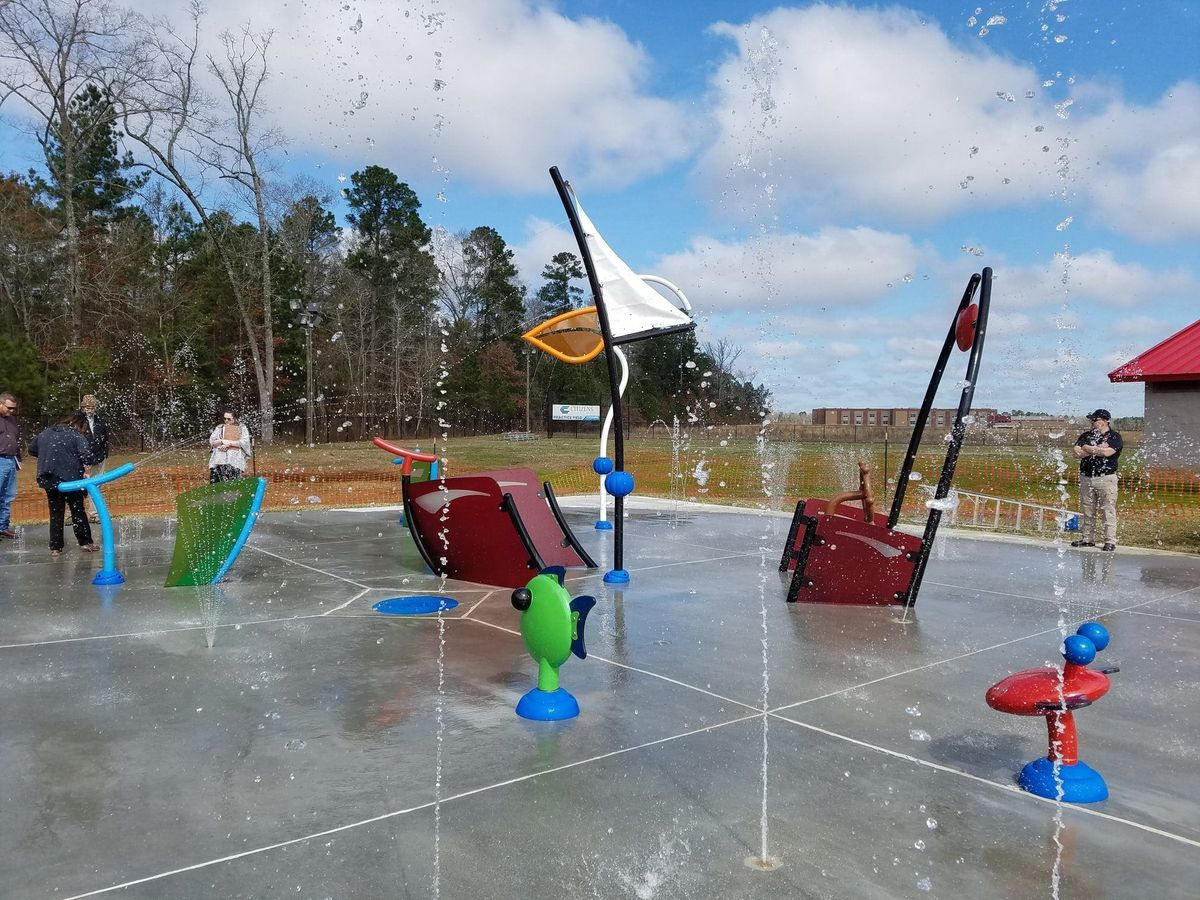 Haughton splash pad closed this week