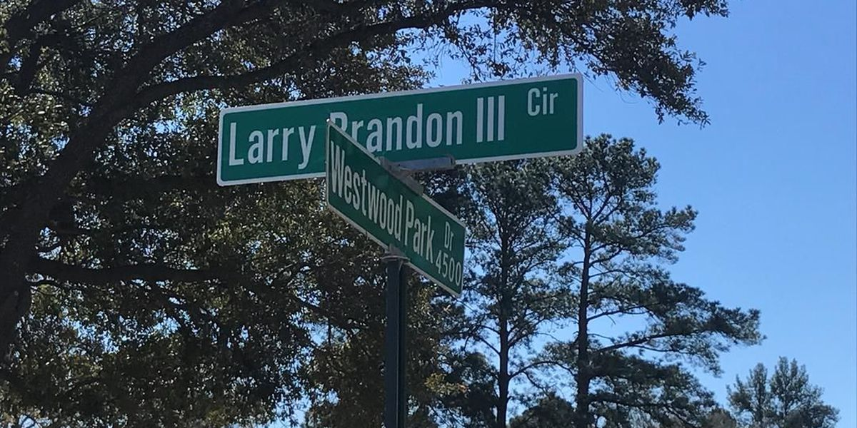 Shreveport street renamed in honor of pastor's slain son, Larry Brandon III