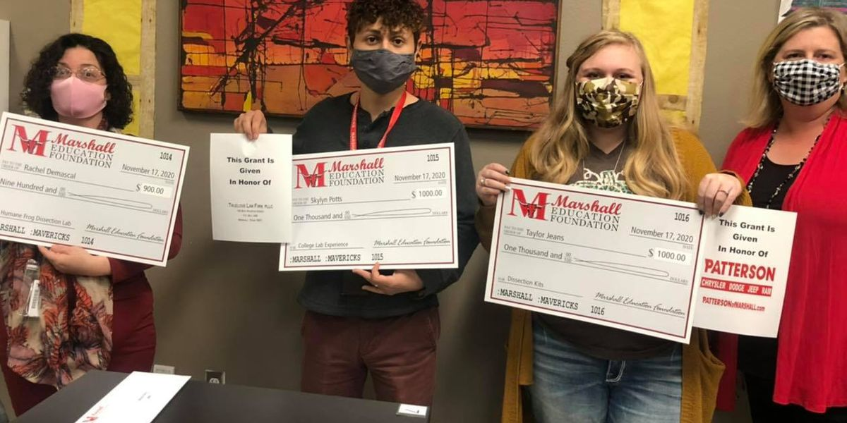 Marshall Education Foundation awards $33,000 in teacher grants