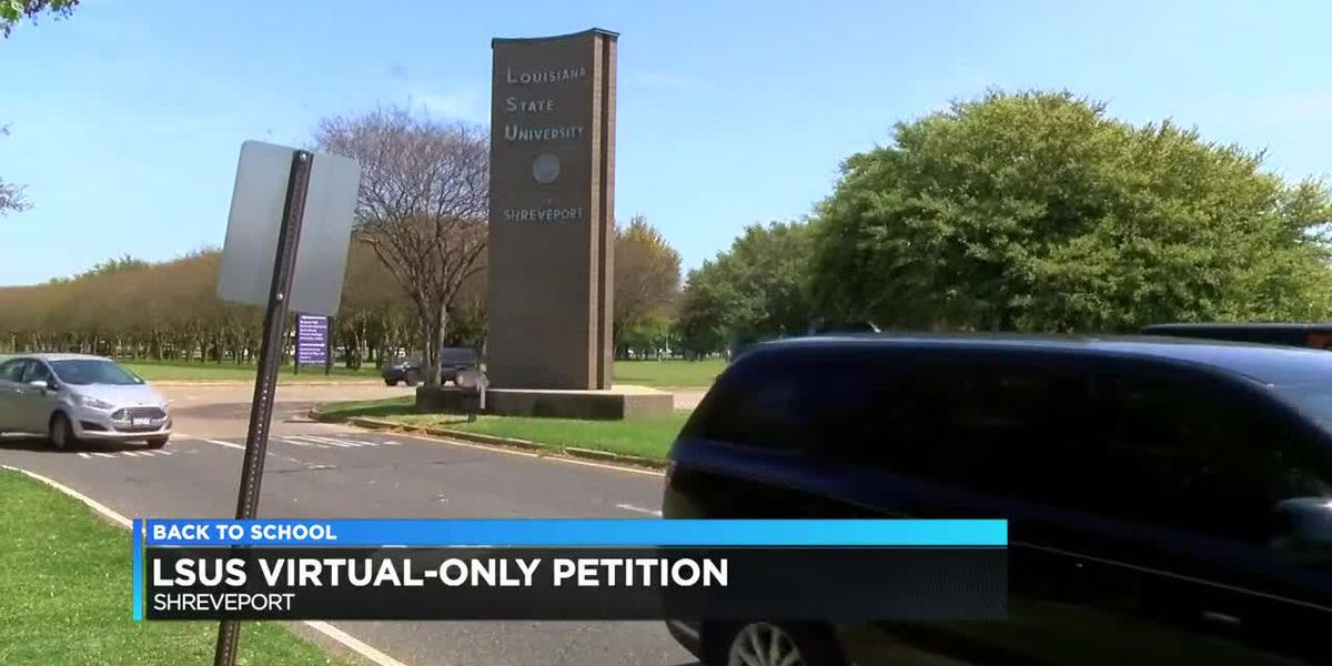 Petition aims to make LSU-Shreveport virtual-only
