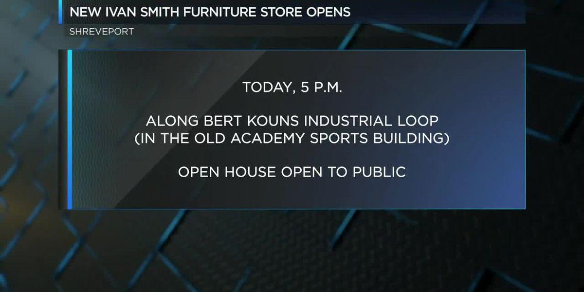 New Ivan Smith Furniture Store opens in Shreveport