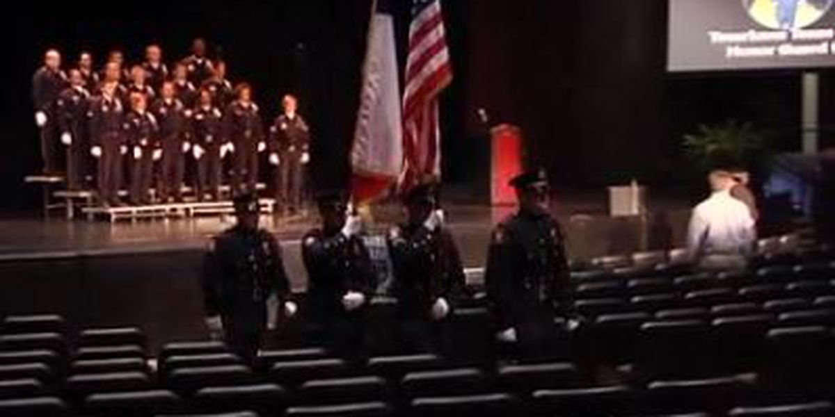 TTPD holds Texas Peace Officer Memorial Ceremony