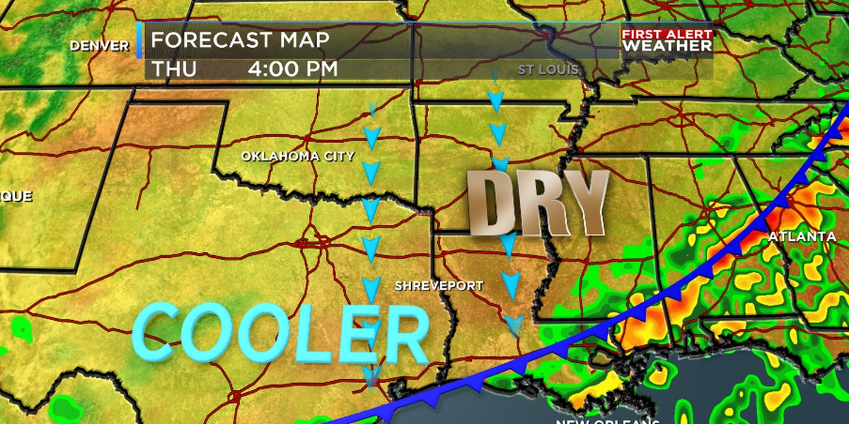 FIRST ALERT: Cold front brings in rain and first taste of fall
