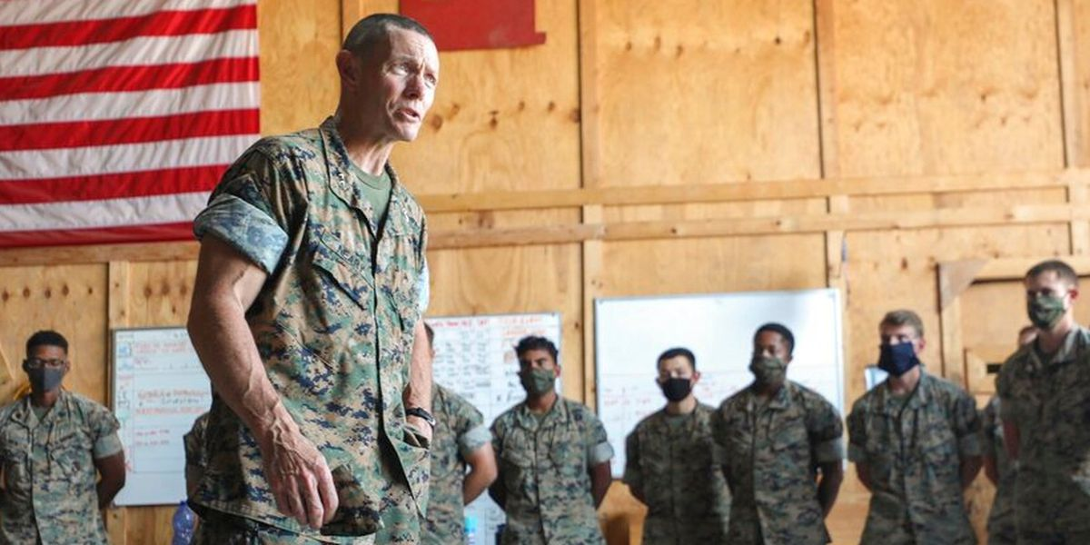 Marines remove general investigated over alleged racial slur