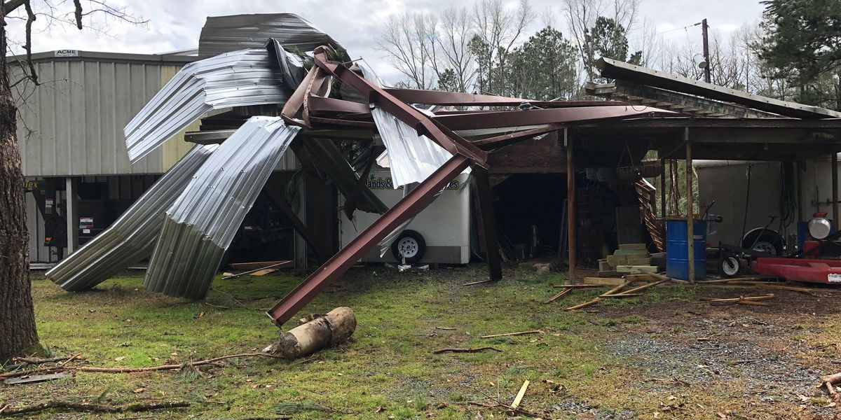 National Weather Service confirms 3 EF-1 tornadoes hit Northwest Louisiana