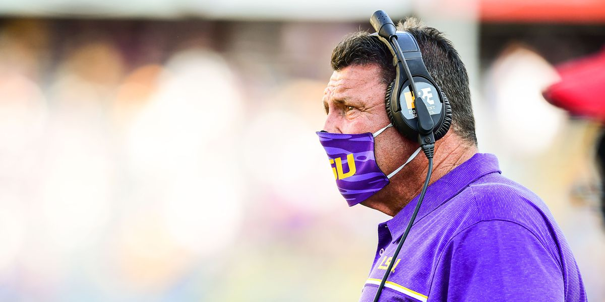 'That was sickening to hear': Orgeron comments on investigation into sexual assault reporting at LSU