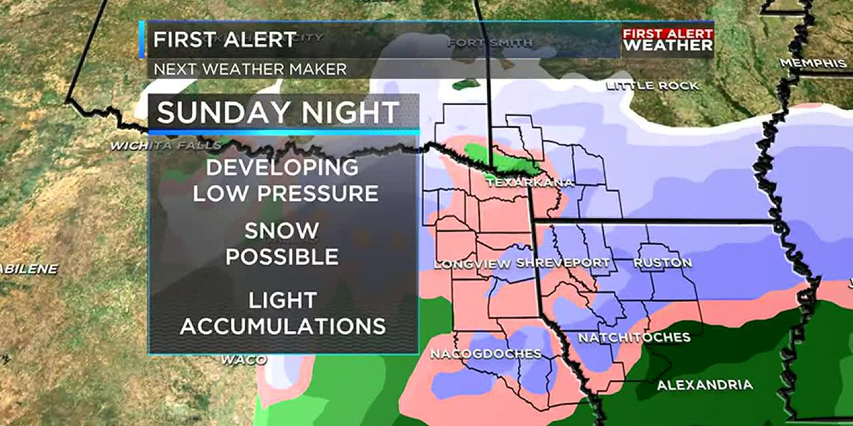 Wintry weather possibilities growing for this weekend