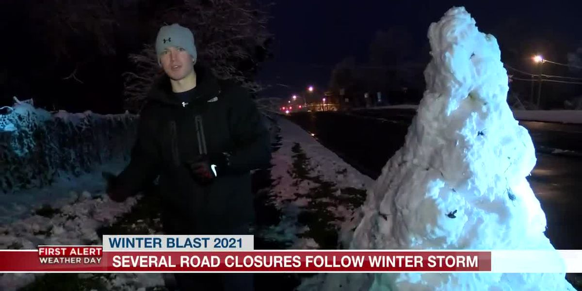KSLA News 12's Christian Piekos discusses snowman construction strategy, building techniques