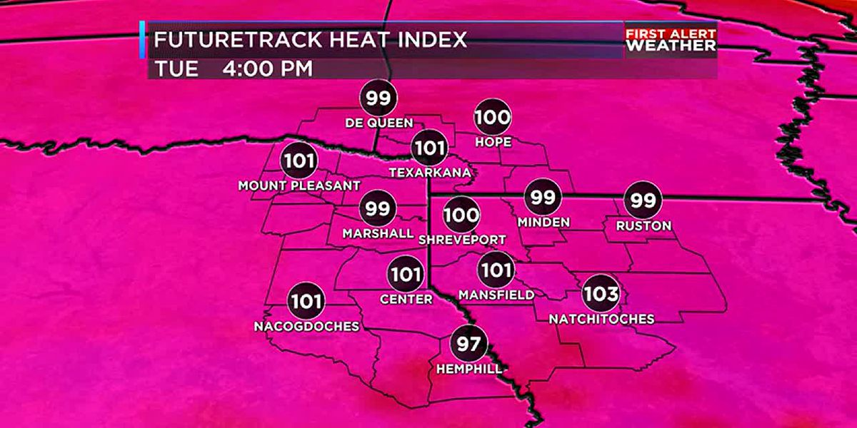 More heat for now, but relief is on its way
