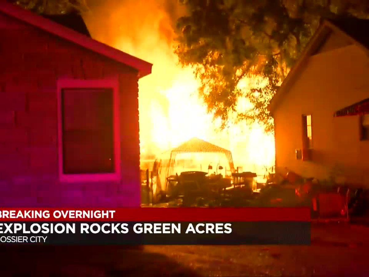 Overnight explosion rocks Green Acres Subdivision