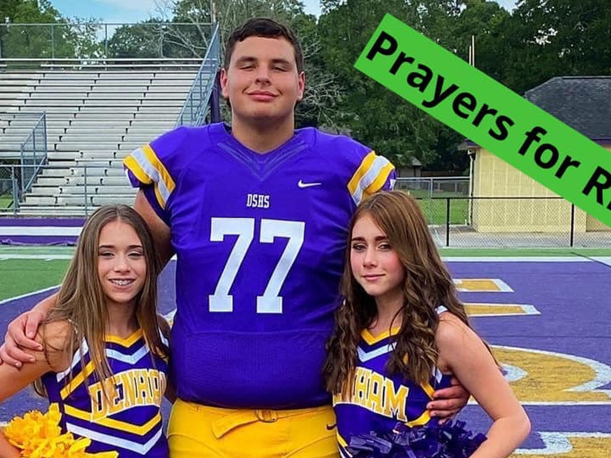'This is not fair:' Denham Springs football player dies following collapse at practice