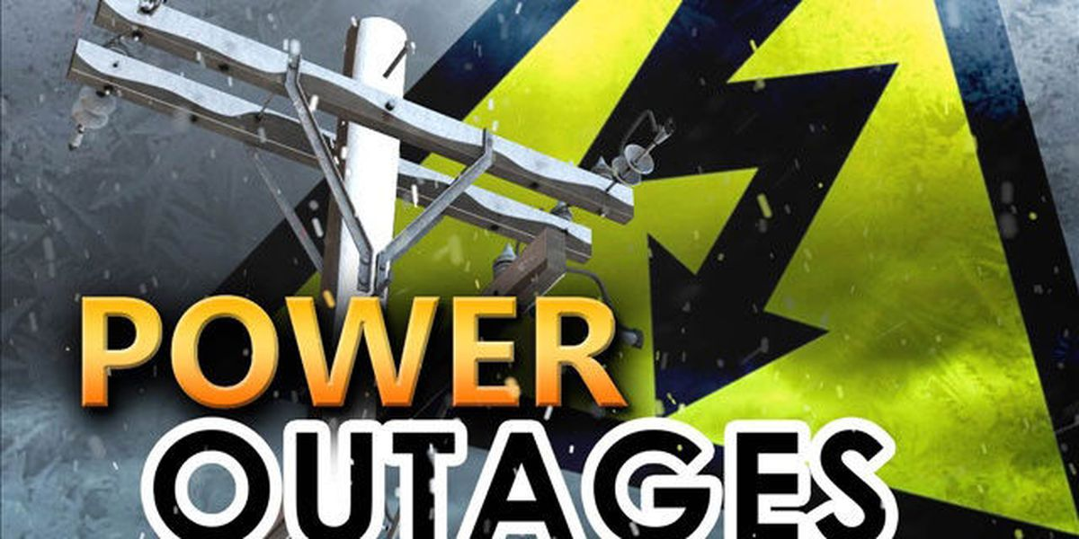 Power outages in the ArkLaTex