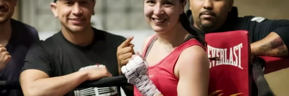 Female boxer fights off would-be robber