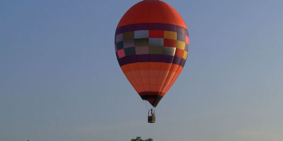 Red River Balloon Rally kicks off this weekend