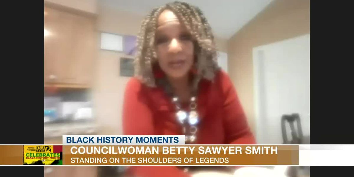 BLACK HISTORY MOMENTS: Natchitoches Councilwoman Betty Sawyer Smith