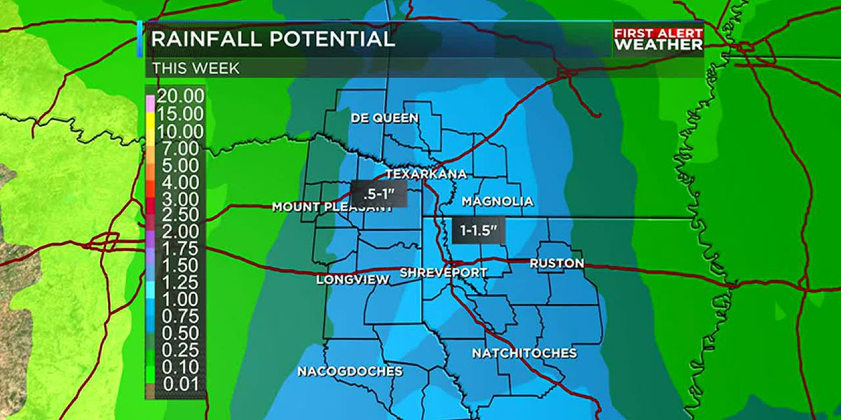 More rain on the way Wednesday