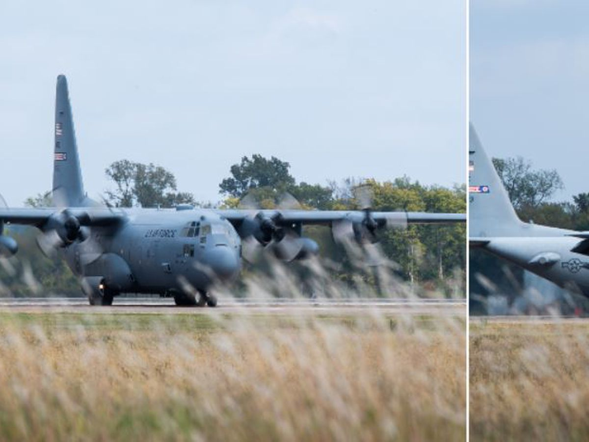 Two C-130s here to take on Louisiana mosquitoes