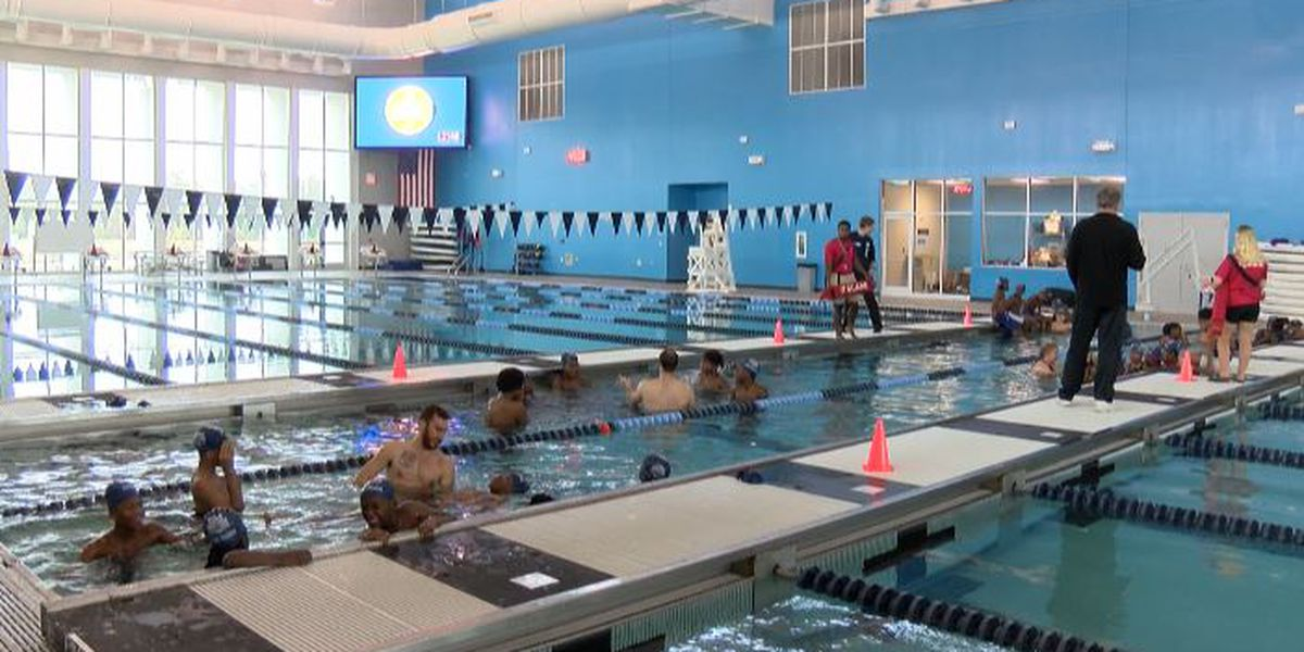 WNBA All-Star hosts annual swim safety event in Shreveport