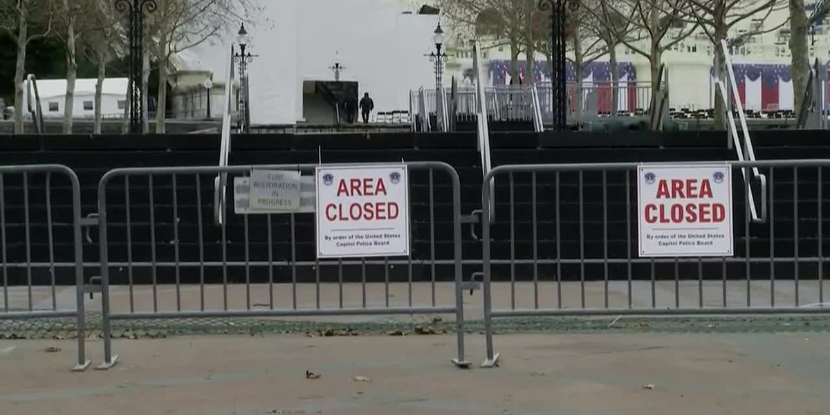 Security on high alert for inauguration week