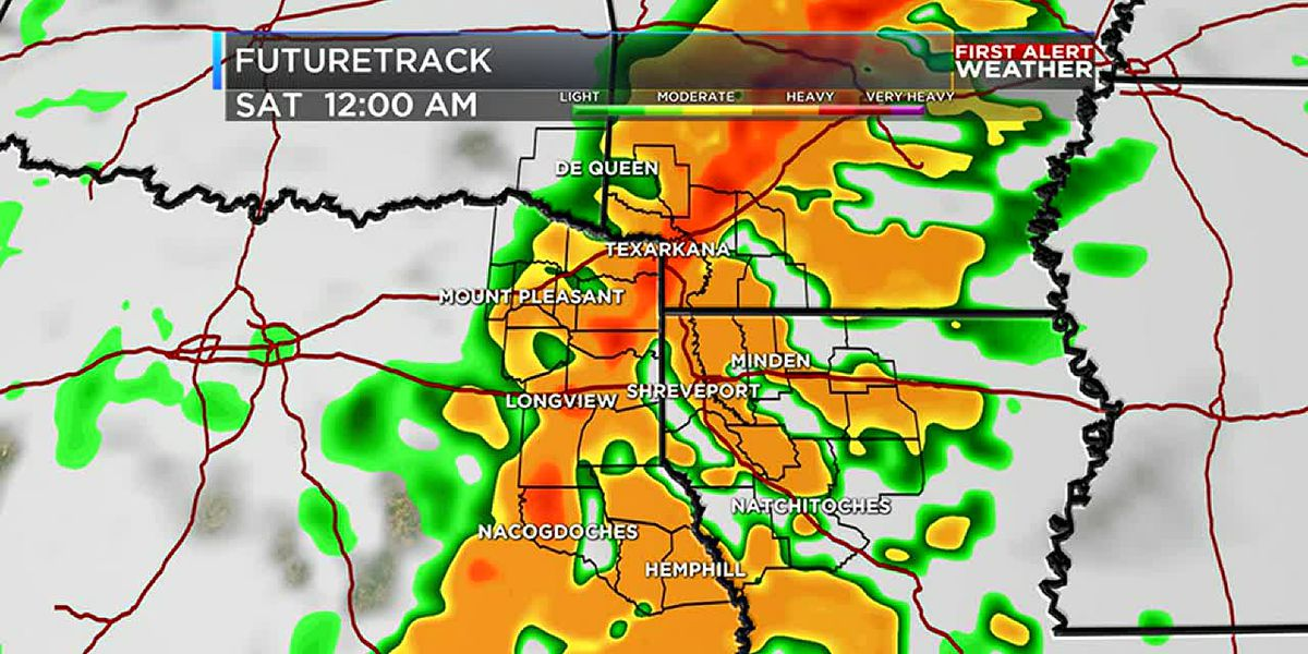 Weather begins to change ahead of Friday's storm chances