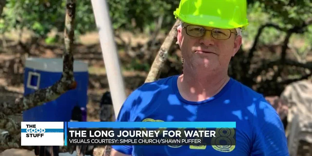 Man who paddled the Mighty Mississippi addresses water needs in Honduras
