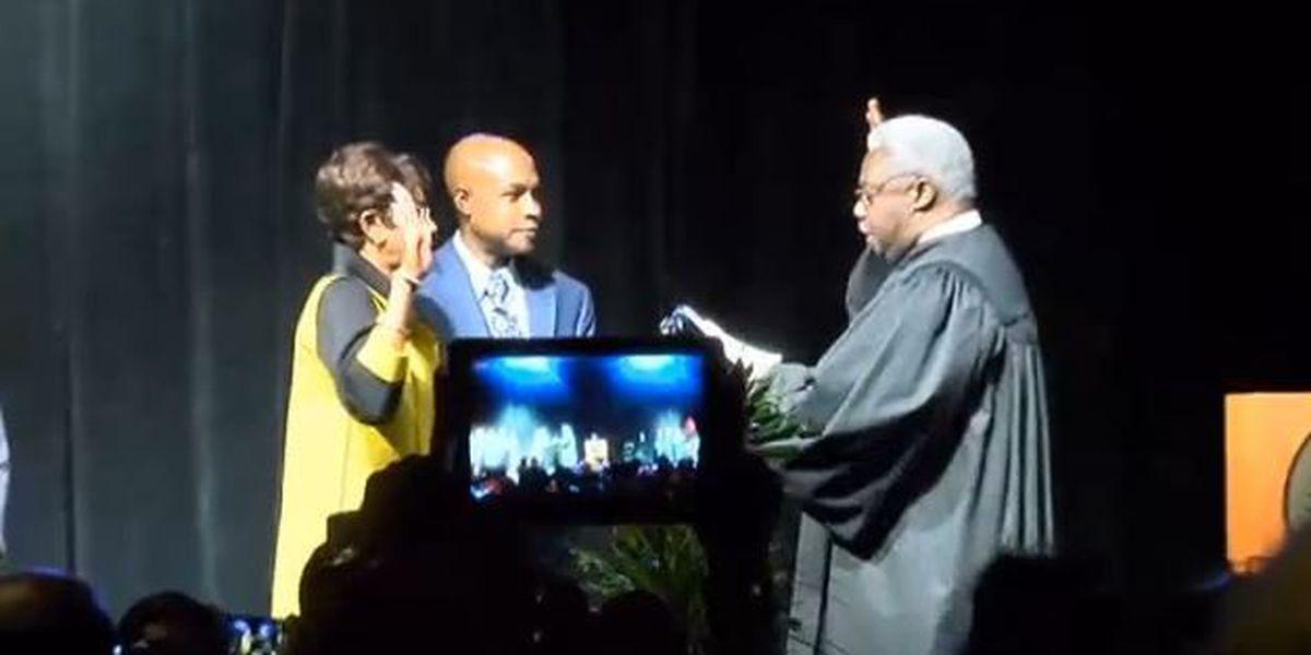 Ollie Tyler sworn in as Shreveport mayor