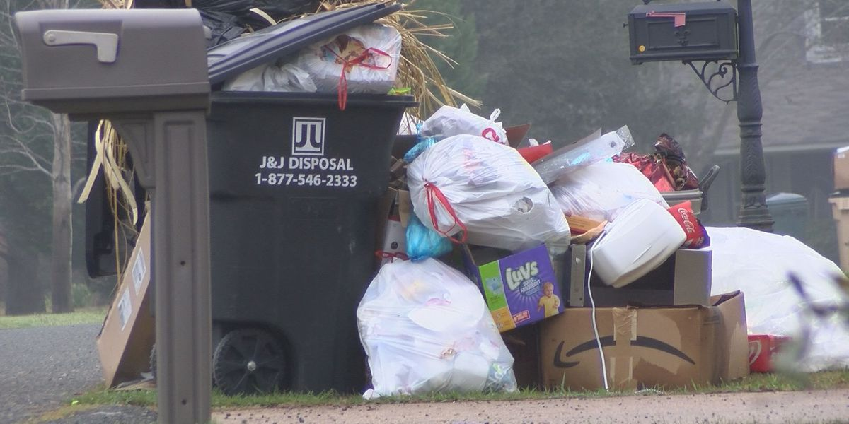 Garbage pickup delay leaves trash piling up for Bossier residents