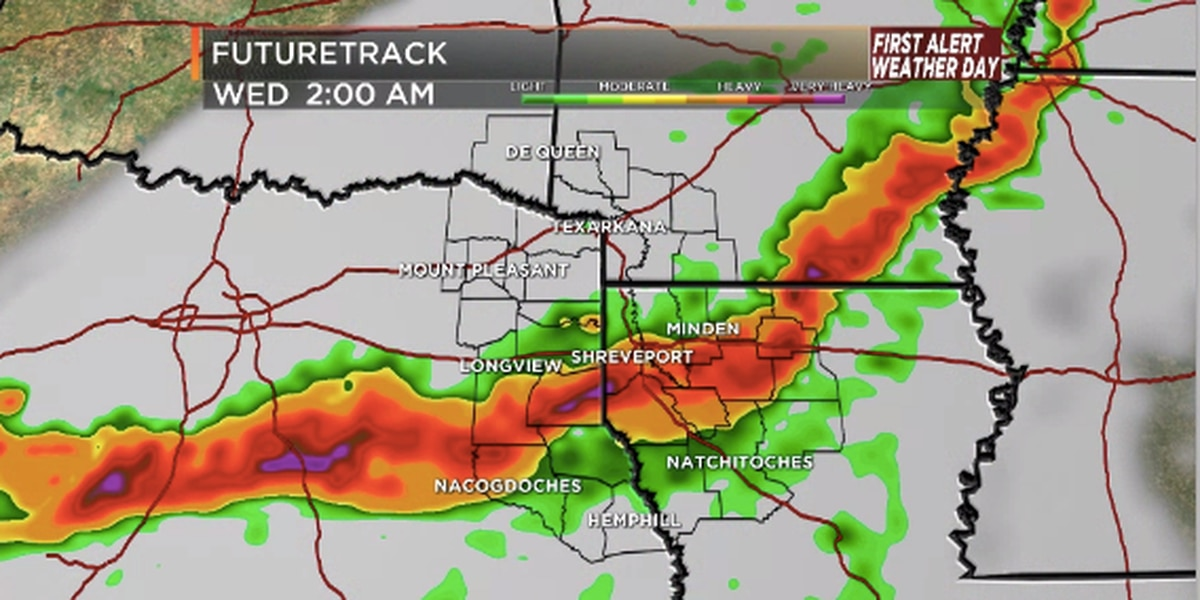 First Alert Weather Day Tuesday