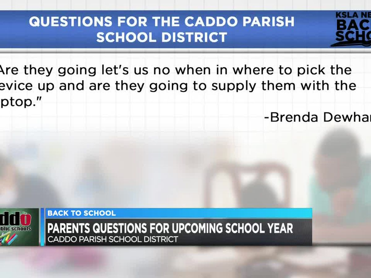 Caddo Parish School District survey shows students plans for fall