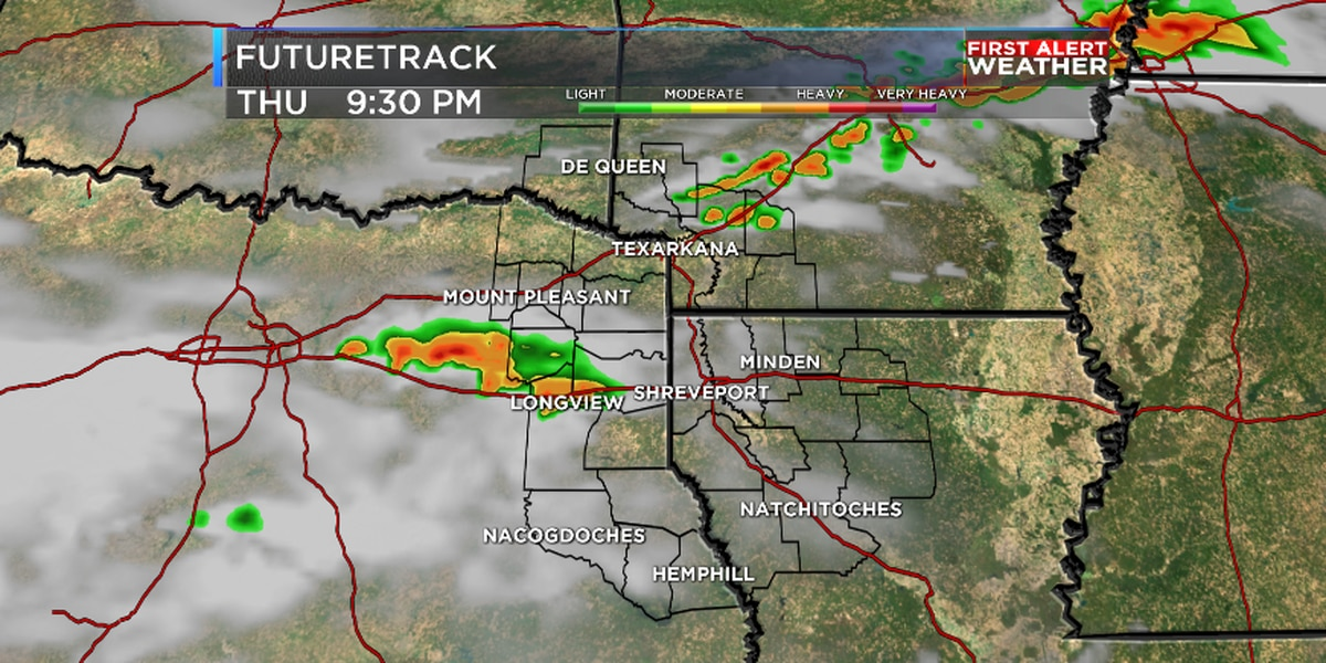 Several chances for rain to end week