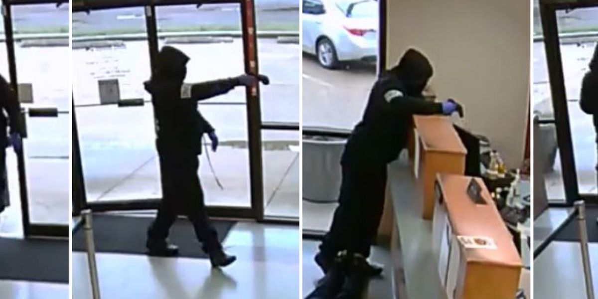 Police searching for gunman in credit union robbery