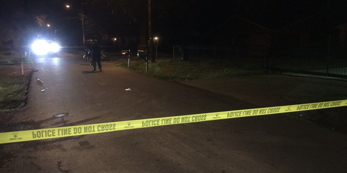 Man being treated for possibly life-threatening gunshot wounds