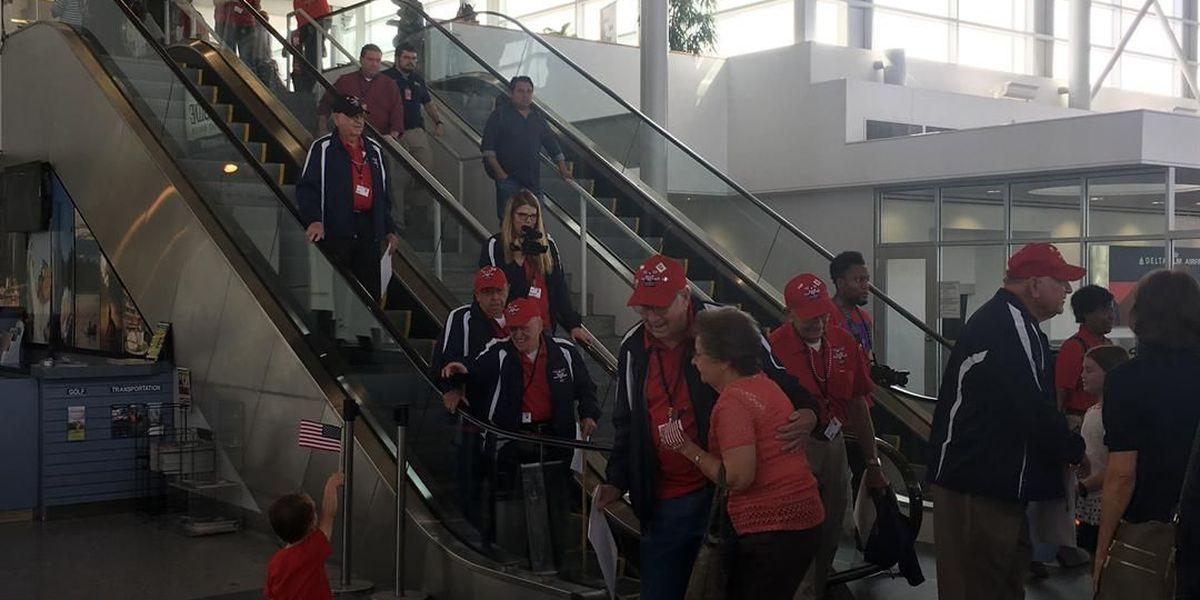 Heroes Flight homecoming: Two dozen World War II veterans return home to the ArkLaTex