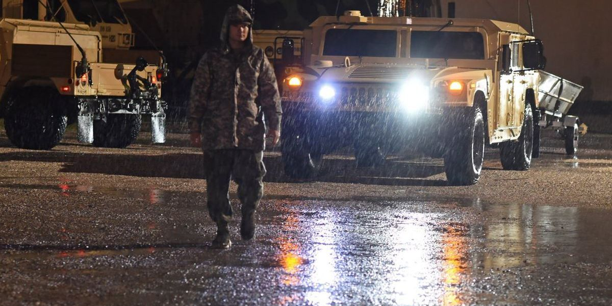 Louisiana National Guard activated for Harvey flood response in SWLA