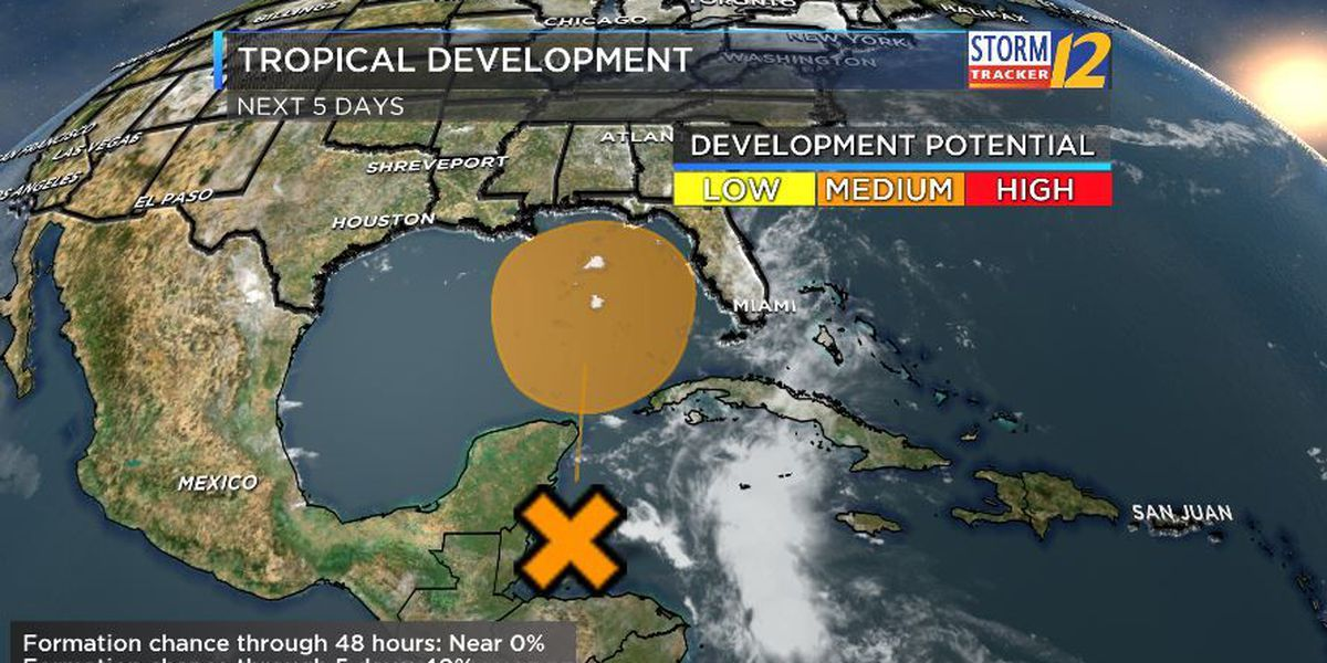 First Alert: Tracking a disturbance in the Tropics