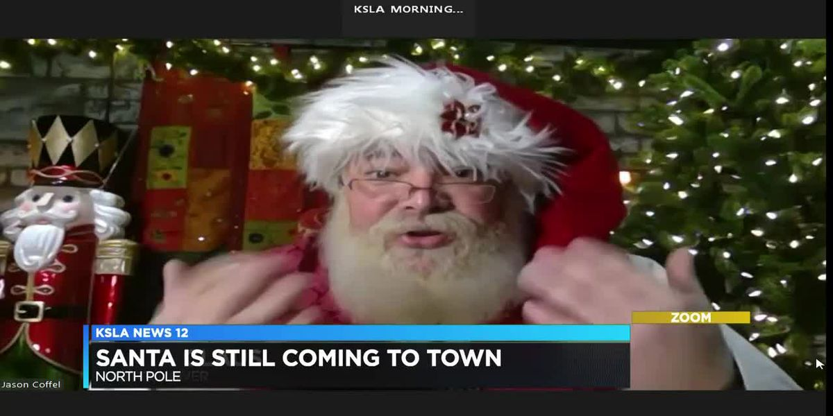 Interview with Santa: He's adapting, staying jolly in this age of COVID-19