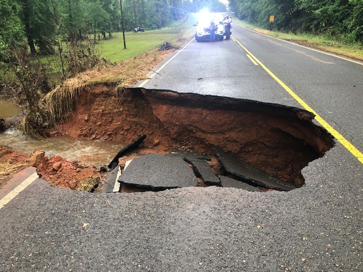 ROAD CLOSURE: Louisiana DOTD closes off LA 540 in Claiborne Parish