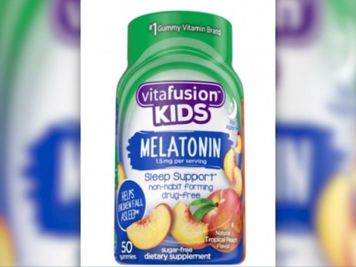Gummy vitamins recalled for possible metallic mesh