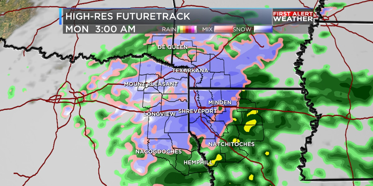 First Alert Weather Day: Accumulating snow expected Sunday night