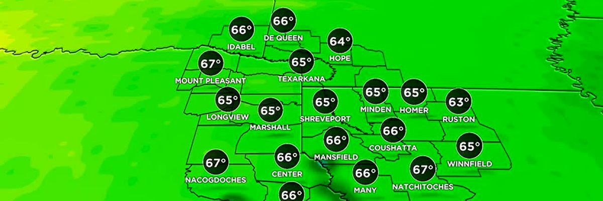 Sunny and warm Wednesday! Rain moves back in Friday