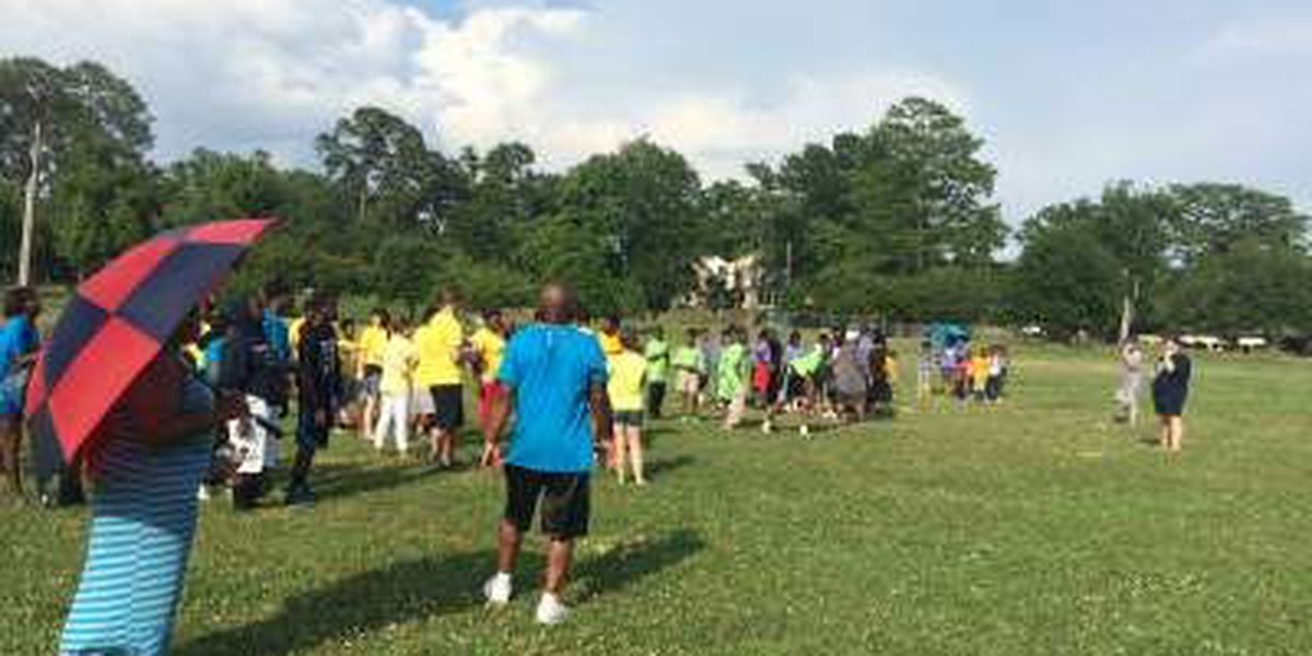 Friendship House kids have fun at Operation Hope Field day