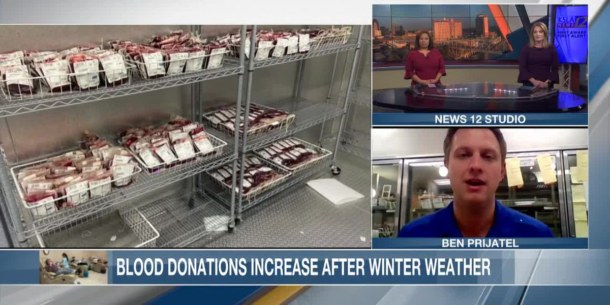 ZOOM INTERVIEW: Blood donations increase at LifeShare Blood Centers