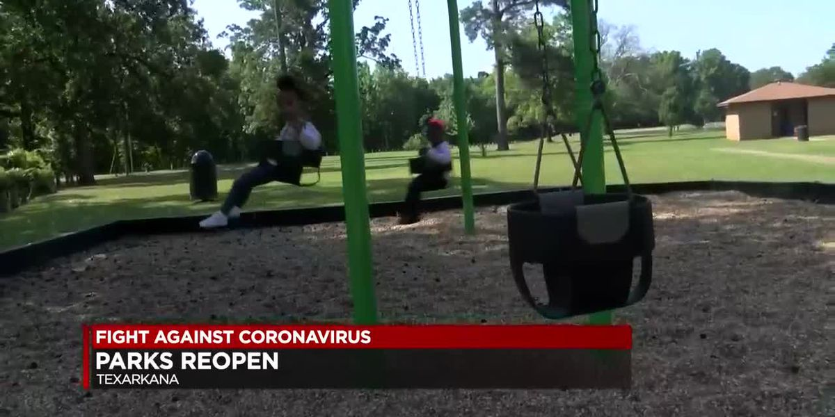 Texarkana city parks reopen after COVID-19 closures