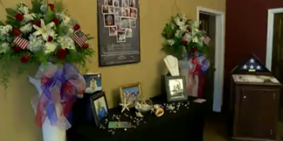 Shreveport funeral home creates Barbara Bush memorial