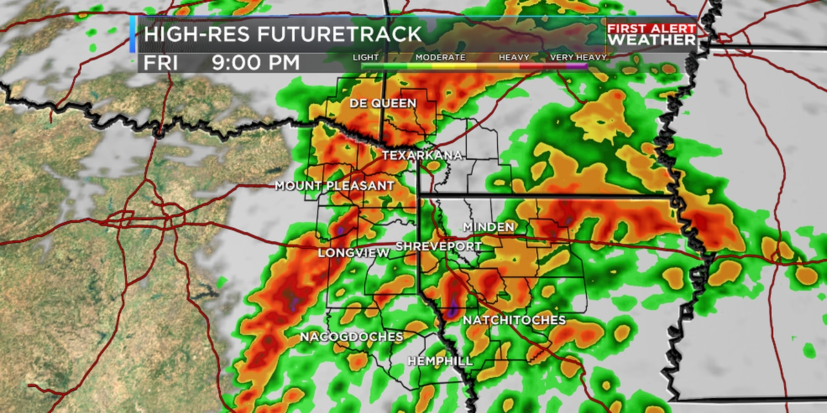 Friday is a First Alert Weather Day with a few severe storms possible