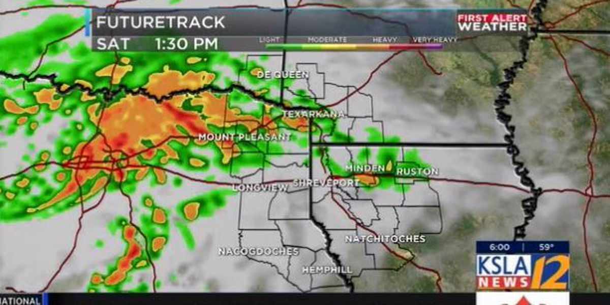 FIRST ALERT: Expect rain the next several days