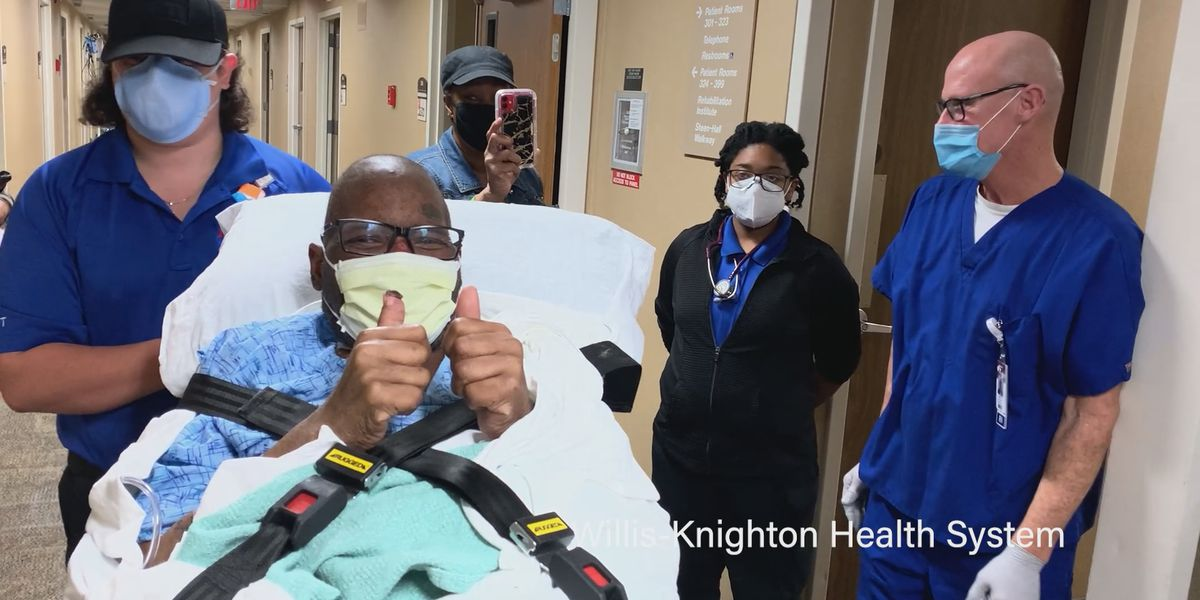 Shreveport man recovers from coronavirus after seven months in hospital